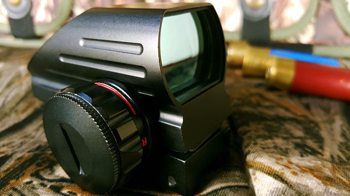 best red dot sight with laser